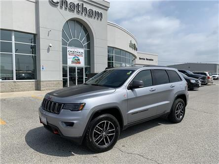 2017 Jeep Grand Cherokee Trailhawk (Stk: U04568A) in Chatham - Image 1 of 29