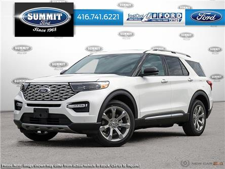 2020 Ford Explorer Platinum (Stk: 20T7263) in Toronto - Image 1 of 22