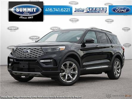 2020 Ford Explorer Platinum (Stk: 20T7265) in Toronto - Image 1 of 23