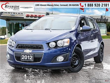 2012 Chevrolet Sonic LT (Stk: N19287B) in Cornwall - Image 1 of 27
