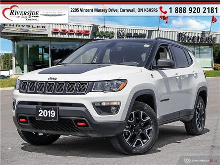 2019 Jeep Compass Trailhawk (Stk: V02003) in Cornwall - Image 1 of 27