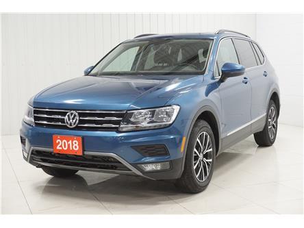 2018 Volkswagen Tiguan Comfortline (Stk: T20116A) in Sault Ste. Marie - Image 1 of 19