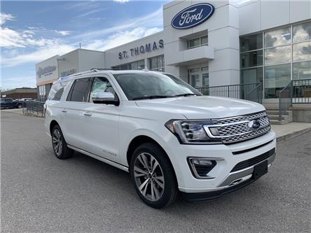 2020 Ford Expedition Max Platinum (Stk: S0330) in St. Thomas - Image 1 of 31