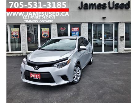 2014 Toyota Corolla LE (Stk: N20307B) in Timmins - Image 1 of 14