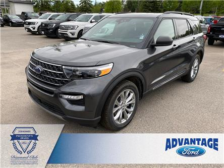 2020 Ford Explorer XLT (Stk: L-244) in Calgary - Image 1 of 8