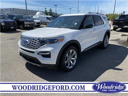 2020 Ford Explorer Platinum (Stk: L-267) in Calgary - Image 1 of 7