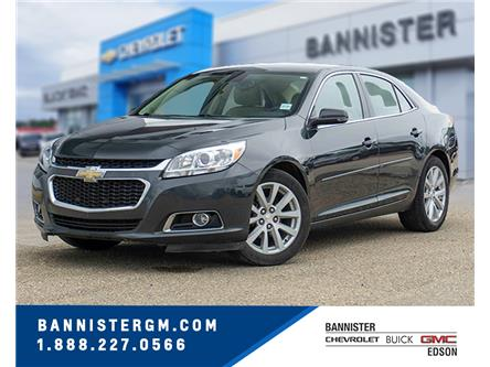 2015 Chevrolet Malibu 2LT (Stk: 20-011B) in Edson - Image 1 of 15