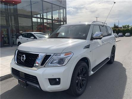 2020 Nissan Armada Platinum (Stk: T20149) in Kamloops - Image 1 of 22
