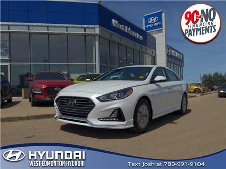 2018 Hyundai Sonata Hybrid GL (Stk: E5077) in Edmonton - Image 1 of 21