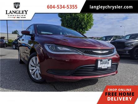 2016 Chrysler 200 LX (Stk: LC0344) in Surrey - Image 1 of 21