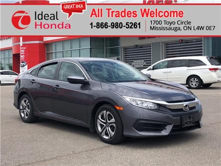 2016 Honda Civic LX (Stk: 67073) in Mississauga - Image 1 of 11