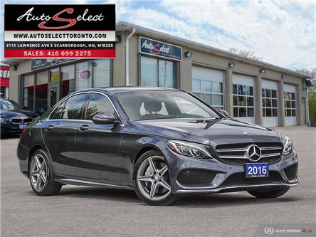2016 Mercedes-Benz C-Class AWD (Stk: 16MG1Q21) in Scarborough - Image 1 of 29