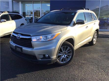 2014 Toyota Highlander Hybrid XLE (Stk: S4216A) in Peterborough - Image 1 of 14