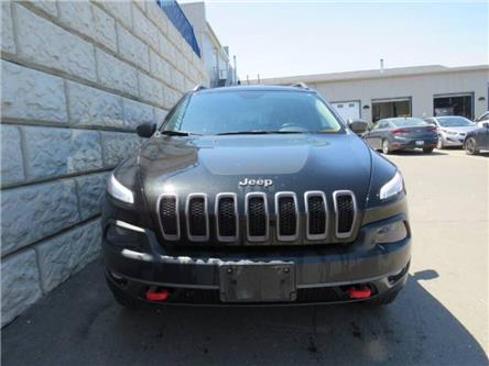 2015 Jeep Cherokee Trailhawk (Stk: D00124A) in Fredericton - Image 1 of 5