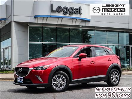 2018 Mazda CX-3 GS (Stk: 202279A) in Burlington - Image 1 of 23