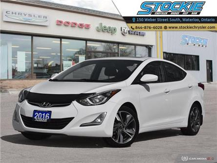 2016 Hyundai Elantra GLS (Stk: 33871) in Waterloo - Image 1 of 26