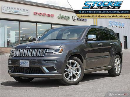 2020 Jeep Grand Cherokee Summit (Stk: 34092) in Waterloo - Image 1 of 27
