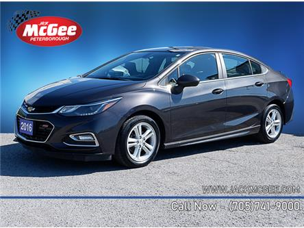 2016 Chevrolet Cruze LT Auto (Stk: P16569) in Peterborough - Image 1 of 20