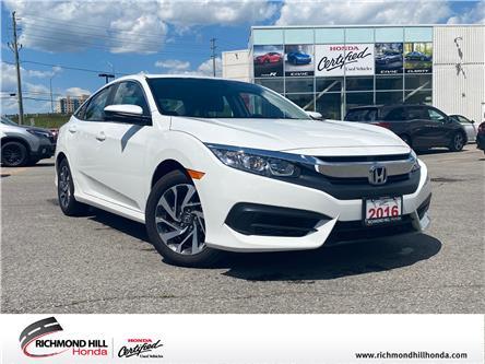 2016 Honda Civic EX (Stk: 202107P) in Richmond Hill - Image 1 of 19