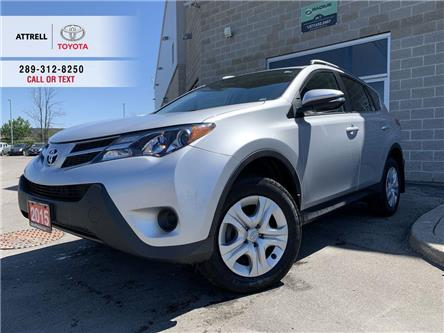 2015 Toyota RAV4 LE FWD UPGRADE HEATED SEATS, BACK CAM, BLUETOOTH, (Stk: 47194A) in Brampton - Image 1 of 24