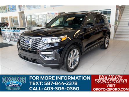 2020 Ford Explorer Platinum (Stk: L-103) in Okotoks - Image 1 of 6