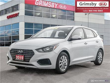 2019 Hyundai Accent Preferred (Stk: U1706) in Grimsby - Image 1 of 24