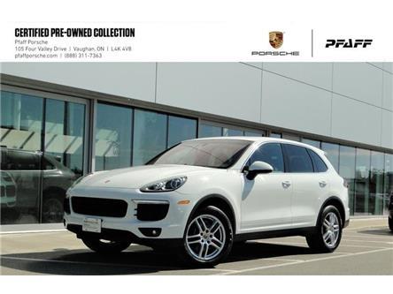 2017 Porsche Cayenne w/ Tip (Stk: P15283A) in Vaughan - Image 1 of 22
