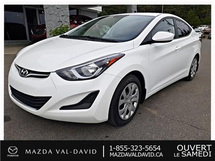 2016 Hyundai Elantra  (Stk: B1794A) in Val-David - Image 1 of 19
