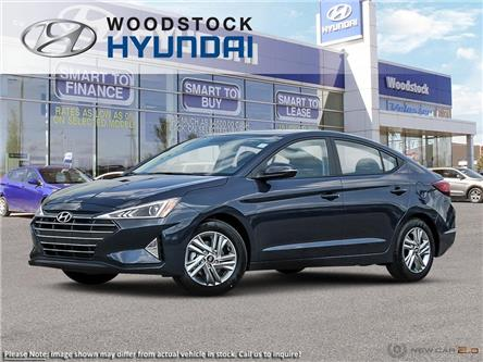 2020 Hyundai Elantra Preferred (Stk: EA20057) in Woodstock - Image 1 of 12