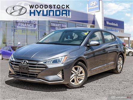 2020 Hyundai Elantra Preferred w/Sun & Safety Package (Stk: HD20010) in Woodstock - Image 1 of 27