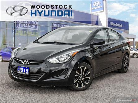 2015 Hyundai Elantra GL (Stk: TN20025A) in Woodstock - Image 1 of 27