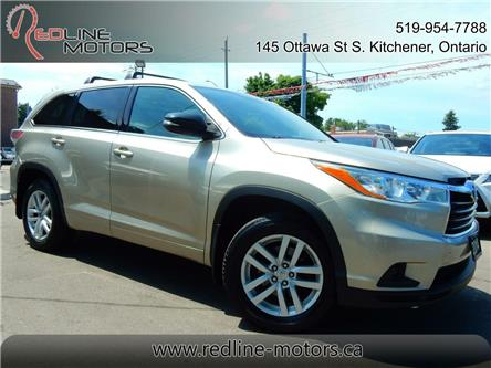 2014 Toyota Highlander LE (Stk: 5TDBKR) in Kitchener - Image 1 of 24