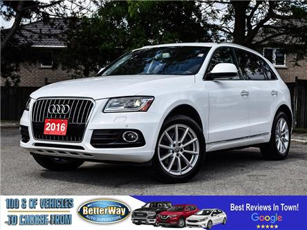 2016 Audi Q5 3.0L TDI Technik |LEATHER |NAVIGATION |AWD |LOADED (Stk: 5667) in Stoney Creek - Image 1 of 27