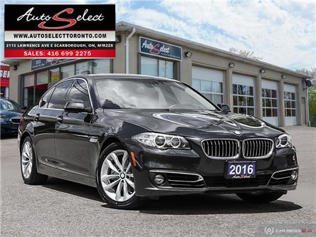 2016 BMW 528i xDrive (Stk: 163T1G1) in Scarborough - Image 1 of 28