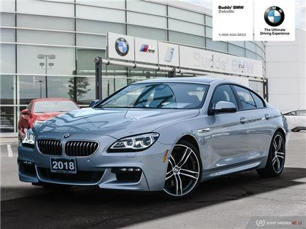 2018 BMW 640i xDrive Gran Coupe (Stk: B605489A) in Oakville - Image 1 of 28