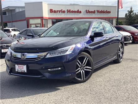 2016 Honda Accord Touring V6 (Stk: U16102) in Barrie - Image 1 of 30