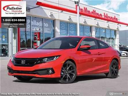 2020 Honda Civic Sport (Stk: 22596) in Greater Sudbury - Image 1 of 23