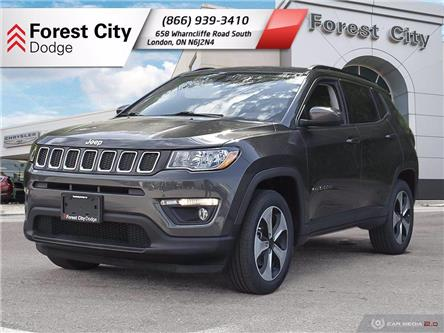 2017 Jeep Compass North (Stk: 20-7019A) in London - Image 1 of 20