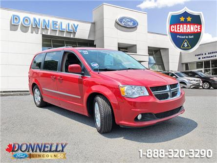2012 Dodge Grand Caravan Crew (Stk: CLDUR6396A) in Ottawa - Image 1 of 21