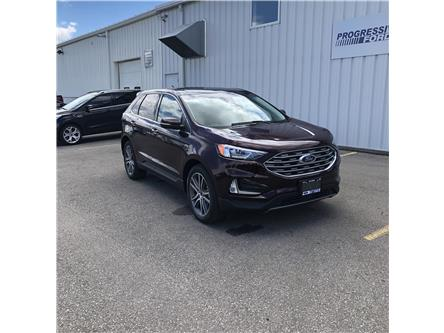 2020 Ford Edge Titanium (Stk: LBA65227) in Wallaceburg - Image 1 of 16