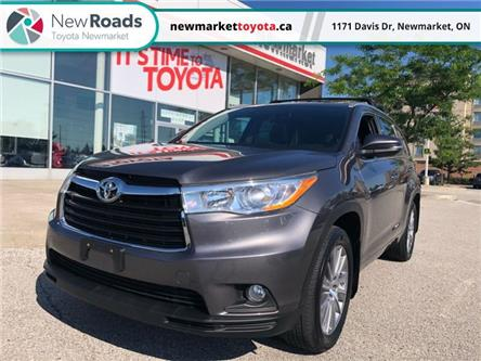 2016 Toyota Highlander XLE (Stk: 351011) in Newmarket - Image 1 of 24