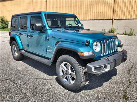 2020 Jeep Wrangler Unlimited Sahara (Stk: 2636) in Windsor - Image 1 of 13