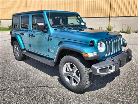 2020 Jeep Wrangler Unlimited Sahara (Stk: 2634) in Windsor - Image 1 of 13