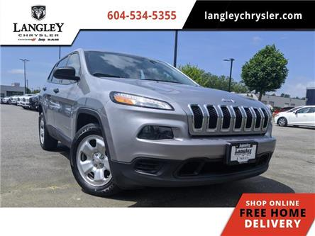 2016 Jeep Cherokee Sport (Stk: LC0379) in Surrey - Image 1 of 22