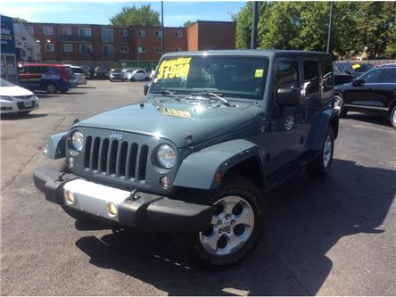 2014 Jeep Wrangler Unlimited Sahara (Stk: A9000) in Sarnia - Image 1 of 30