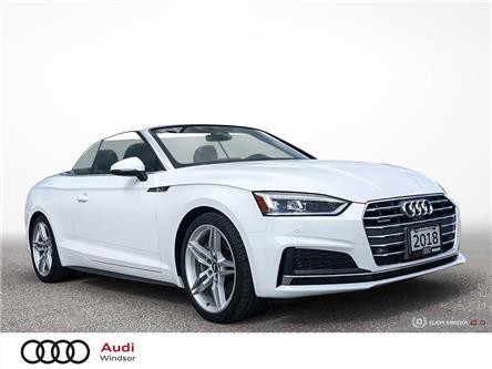 2018 Audi A5 2.0T Technik (Stk: 20507) in Windsor - Image 1 of 26