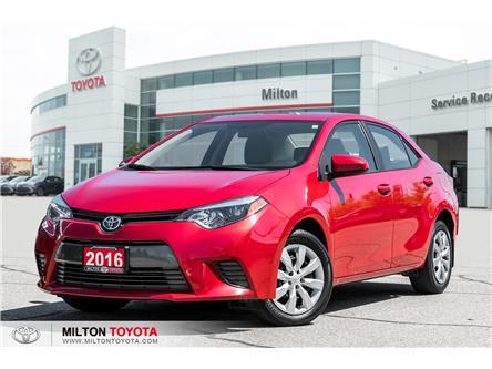 2016 Toyota Corolla LE (Stk: 630847) in Milton - Image 1 of 18