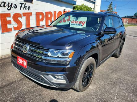 2019 Volkswagen Atlas 3.6 FSI Highline (Stk: 20-282) in Oshawa - Image 1 of 18