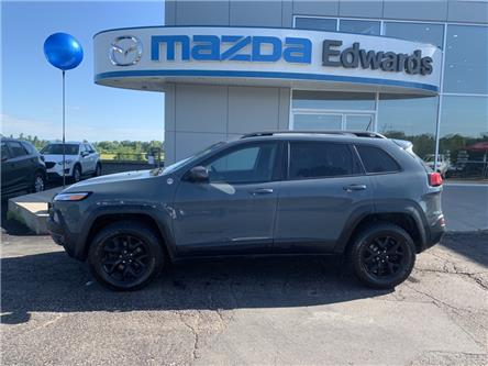 2015 Jeep Cherokee Trailhawk (Stk: 22306) in Pembroke - Image 1 of 12