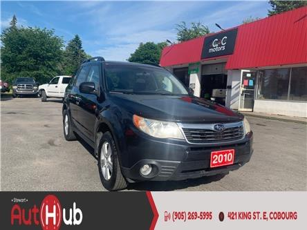 2010 Subaru Forester 2.5 X (Stk: ) in Cobourg - Image 1 of 17
